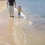 2歳2ヶ月と沖縄旅行に行ってきました:貝拾い編