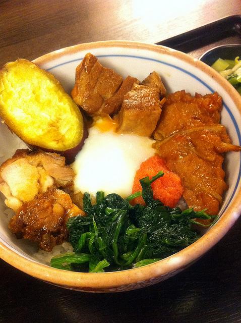 上野名物西郷丼。