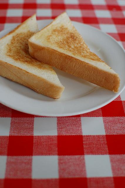 宮里そば・トースト