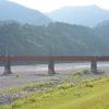 静岡旅行に行ってきました:塩郷の吊り橋(恋金橋)編
